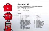 Tas P3K + Isi Emergency Kit First Aid Kit Handmed Kit 4Life
