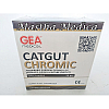 Benang Jahit Bedah Catgut Chromic Suture GEA 3/0 3 Metric Box